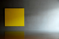 Kolumba Joseph Marioni (Yellow) (010lab) Tags: shadow yellow wall museum architecture painting concrete grey daylight darkness cologne architektur minimalism koln dizesanmuseum kolumba peterzumthor germanarchitecture josephmarioni slowarchitecture