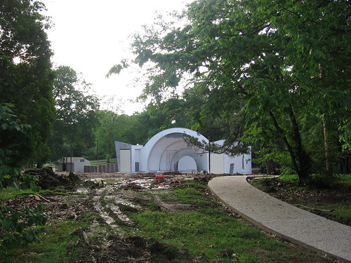 Overton Park Shell Renovation, May 2008