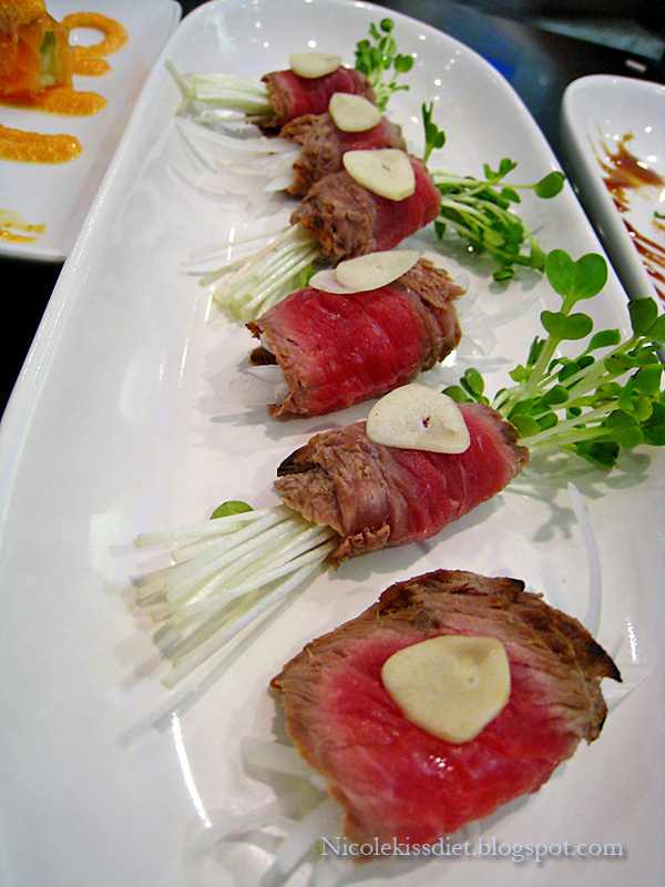 kobe beef vege roll