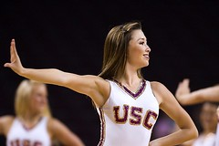 USC Song Girl (Eric Wolfe) Tags: california usa college losangeles dance unitedstates performance cheerleader universities usctrojans songgirl original:filename=200711182250jpg
