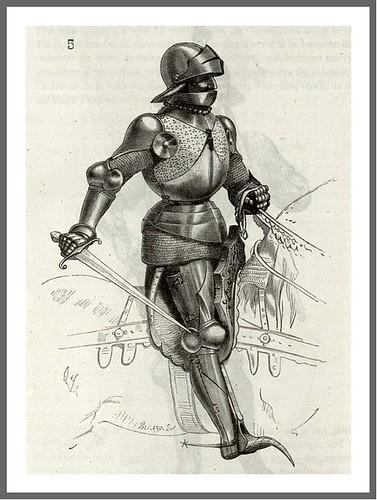 pag 234-Tomo V- Caballero con armadura completa