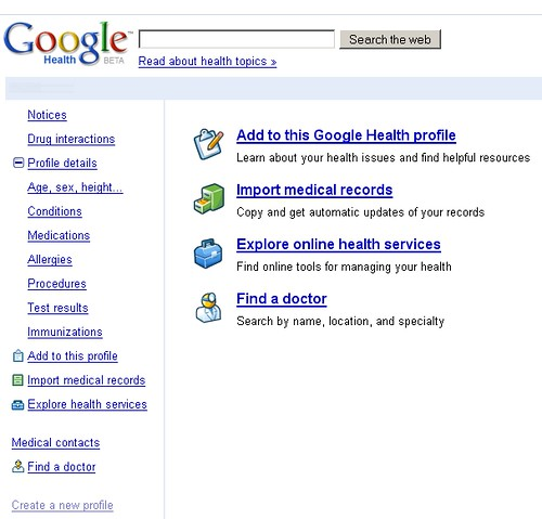 Google Health Launches