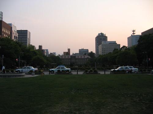 大通公園的盡頭