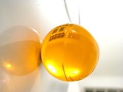 Sol transparente (Chu li) Tags: colors yellow canon colores amarillo giallo transparente esferas transparencias chuli julianaorihuela thebestyellow lasbolitasdediego