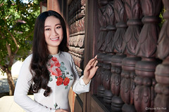 Ao Dai Viet Nam (Huỳnh Tấn Phát) Tags: vietnam saigon beautiful culture aodai portrait lighting outdoor studio cute