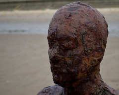 Head (bill.wilkes57) Tags: anotherplace anthonygormley crosby liverpool seaside statues
