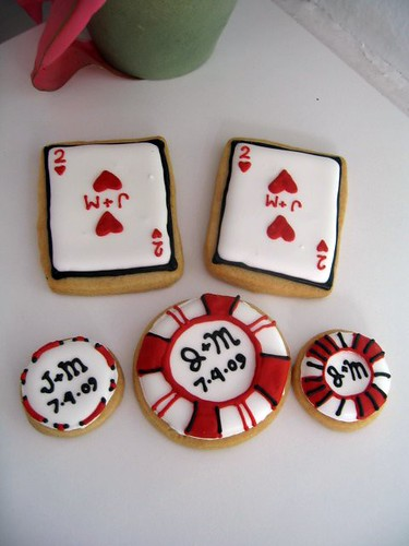 Poker Wedding Set