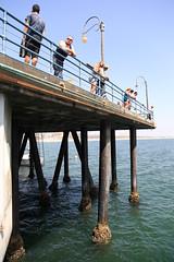 Santa Monica Pier (Dickson@flickr) Tags: iso100 pier losangeles santamonica f45 califonia flashoff canoneos5d ef24105mmf4lisusm 240mm