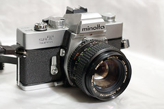 minolta SR-T super (WetCraft) Tags: camera canon vintage 350d 50mm asia minolta antique priceless 1966 wicked canon350d handheld jerome 1973 pinoy chua canonslr canon350 srtsuper canon50d jeromechua