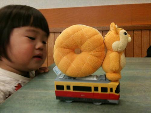 りすと京阪電車