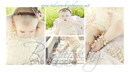 Girls With Pearls Photography. a baby girl in pearls and
