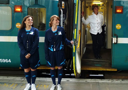 Charter Train - Heineken to Wembley Stadium, 'refs' and Catering Manager