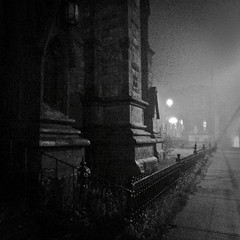 gothic fog (Number Six (bill lapp)) Tags: fog saintjohn gothicarches nbphoto aspectratio11 leicadlux4