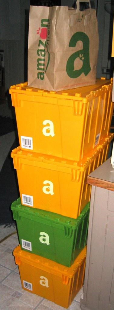 Amazon Fresh Order