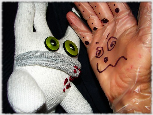 When zombies and eczema hands fall in love...