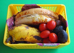 Bagel sandwich lunch for preschooler