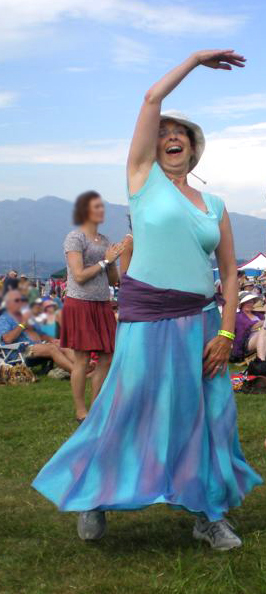 Barbara Dances at Vancouver Folk Festival