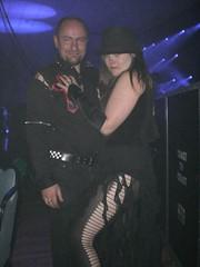Chris and myself (Ruth) (goth.metalmalicia) Tags: gothic whitby goths wgw whitbygothweekend whitbygothweekendoct07 gothswgw wgwoct07 gothicculture