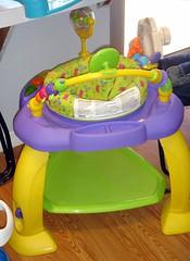 bouncy seat/exersaucer