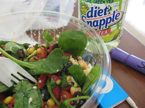 Salad, again