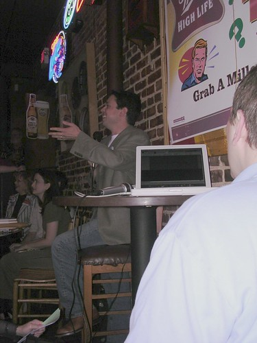 Crashing the Gate book signing (05.09.06) - Kos speaks, Rusty records