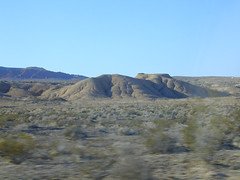 Out of valley, approach Lake Mead Drive