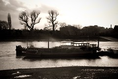 Houseboat on Thames, Hammersmith