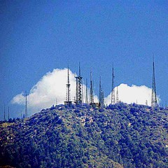 Mount Wilson Scene from Pasadena new camera