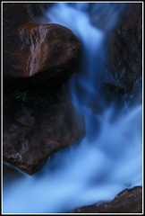 Cascade in Blue #2 (down_the_rabbit_hole) Tags: longexposure blue nature water beautiful rock landscape waterfall nationalpark bravo stream sydney royal peaceful australia nsw cottoncandy waterblur cascade soe tranquil goldstar magicdonkey verybeautiful mywinners blueribbonbeauty