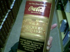 Coca Cola Trademark Volume