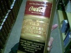 Coca Cola Trademark Volume