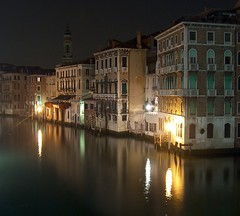 buildings on canal grande, venezia (gicol) Tags: venice italy reflection water canal grande italia nightphoto acqua venezia soe canale notturno riflesso veneto nightimage 10faves golddragon abigfave platinumphoto anawesomeshot