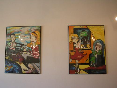 Trabant Pioneer Square art show: Meghann Noelle Seiler