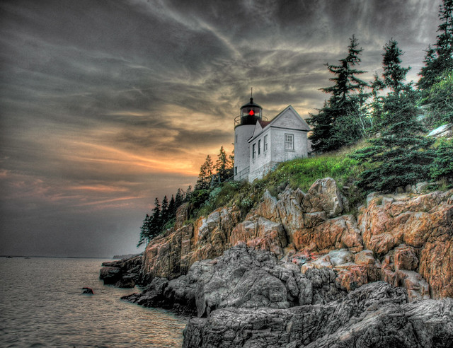 Bass Harbor Lighthouse, Acadia Maine