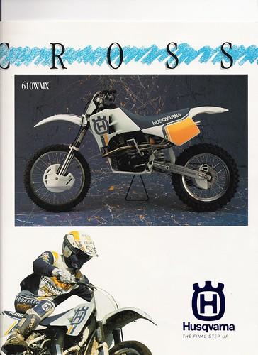 husqvarna 610. 1991 Husqvarna 610 WMX