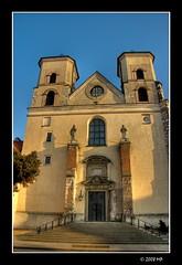 St. Peter's and St. Paul's Church (Mariusz Petelicki) Tags: poland polska krakw cracow hdr tyniec canon400d stpetersandstpaulschurch mariuszpetelicki kocilwpiotraipawa