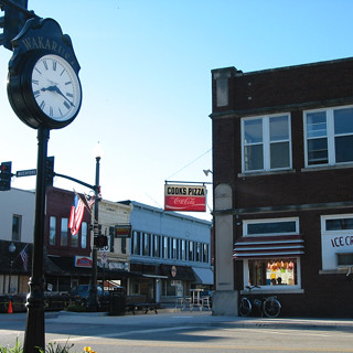 Downtown Wakarusa, IN