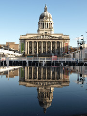 Refections of Nottingham (DaveKav) Tags: nottingham uk greatbritain england urban house reflection ice square perfect photographer market unitedkingdom britain olympus gb rink council the eon e510 fourthirds abigfave 5for2 irresistiblebeauty diamondclassphotographer flickrdiamond platinumheartaward goldstaraward