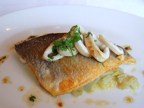 northbank pan-fried brill on braised fennel