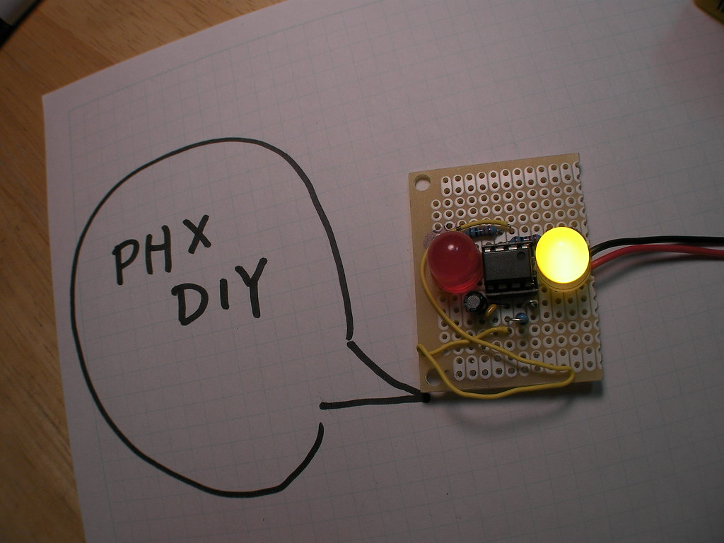 The Worlds Best Photos Of 555 And Timer Flickr Hive Mind Astable Circuit Bekathwia Tags Led Electronics Soldering Phoenixdiy Phxdiy