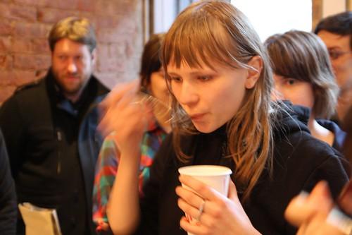 barista gimmecoffee cupping newyorkcoffeesociety