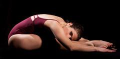 Sissi7 (zampox) Tags: white dancer ballerino lampista contorzionista strobist