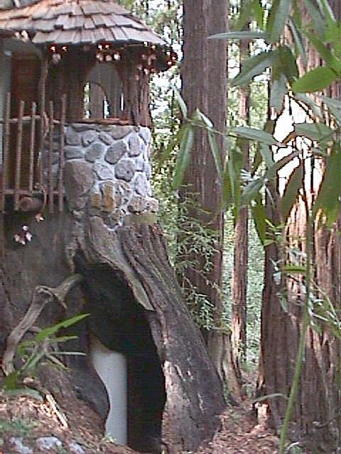Enchanted Playhouse Entrance