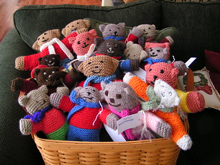 Free Designer Knitting Patterns : Ravelry: Teddies pattern by Teddies for Tragedies