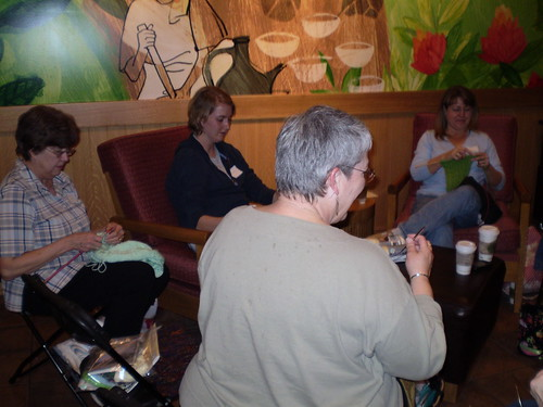 Danville Knitters at Starbucks