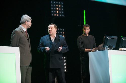 Alfonso Castro, Bernard Ourghanlian et Philippe Ouensanga (Plénière jour 3)