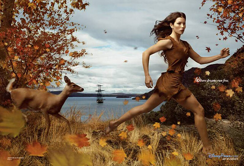 Annie Leibovitz's Disney Dream Portrait Series - Pocahontas