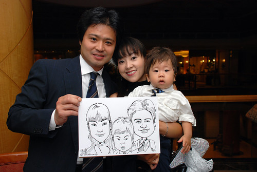 Caricature live sketching Misumi SouthEast Asia D&D 5