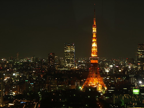 東京タワー&六本木ヒルズ