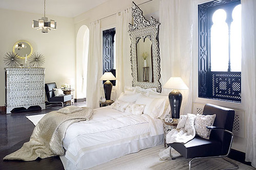... Hollywood Regency Into Your Home Decor: Invest In Home Accessories Such  As Sumptuous Upholstery Fabrics, A Plush Headboard With Nailhead Trim, ...
